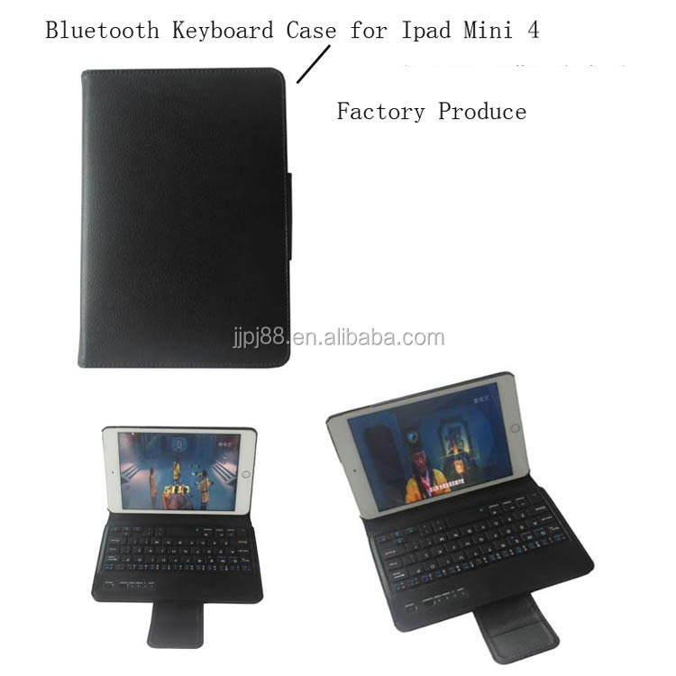 Factory Produce Wireless Bluetooth Keyboard Case For Ipad Mini4 Bluetooth Keyboard
