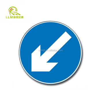 Road safety arrow led directional signage/solar arrow board