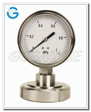High Quality All Stainless Steel diaphragm seal pressure gauge