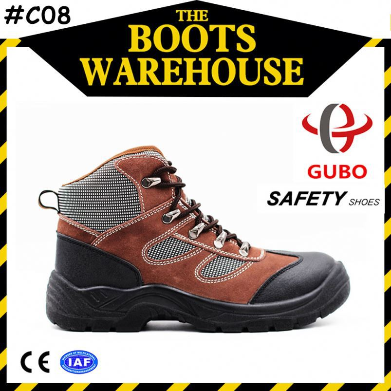 shock resistant suede leather pu sole operating room shoes
