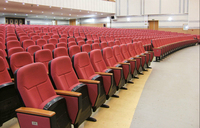 JUYI telescopic seating telescopic theater seating retractable auditorium chairs