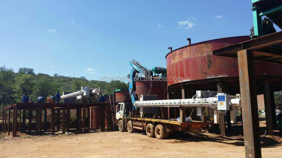 Thickening equipment gravity sedimentation machinery mining machine for sale new type thickener used in washing plant