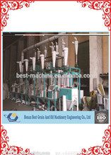 Showy Cassava Flour Mill Process, Grain Flour mill machine, Flour Mill Plant for sale with CE approved