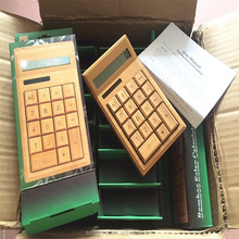 best business gifts 2017,china gift item,alibaba express in electronics 8 digital mini bamboo calculator factory price directly