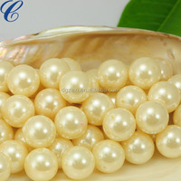 Cheap middle size of loose pearls no holes