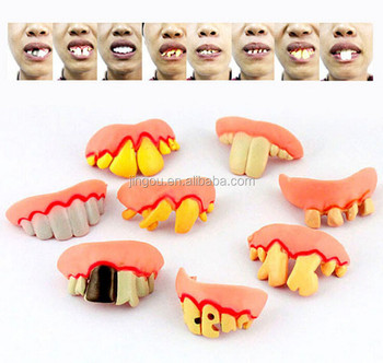 Cheap Fake Teeth Toy For Halloween