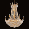 Crystal Ball Chandelier Art Deco Light Fixtures for home