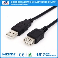 Good quality usb extension cable 6ft male to female