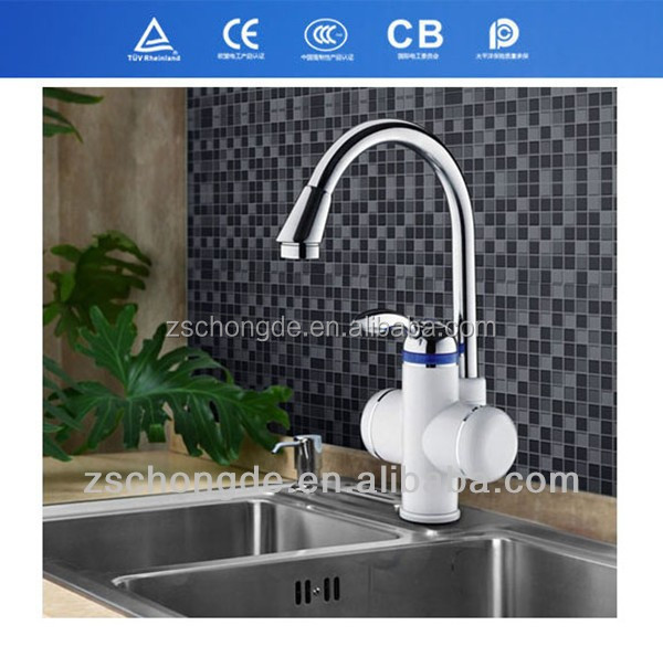KR-30 OEM accepted electric hot water tap instant heating faucet 3kw