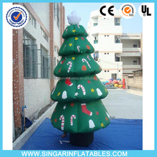 5m Giant inflatable christmas tree decoration,customized Inflatable christmas tree