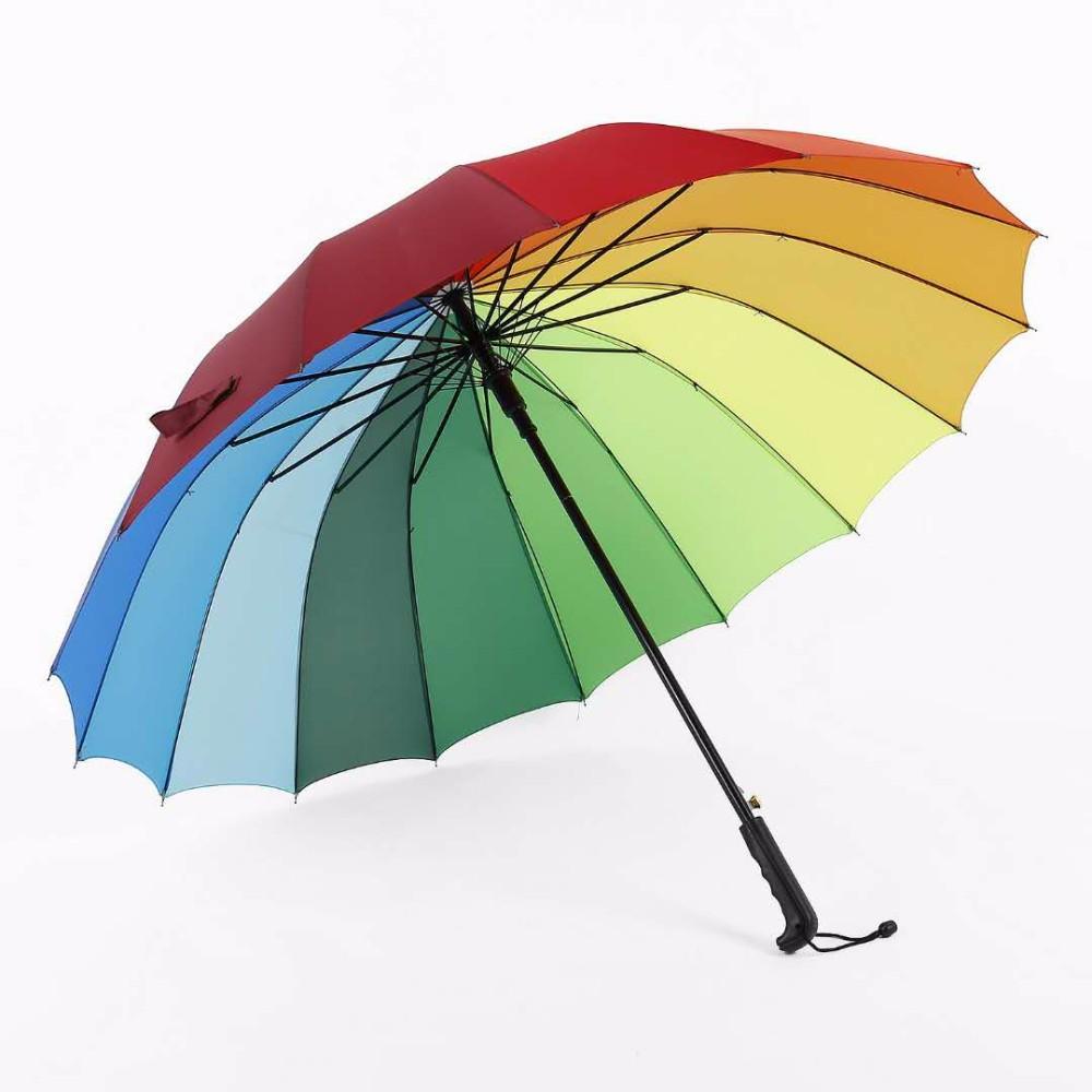 Wholesale rainbow promotional umbrella - Online Buy Best rainbow ...