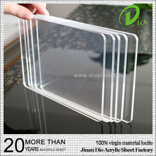 Jinan Dio clear perspex sheet heat resistant acrylic plastic