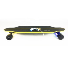 45mph all terrain big wheel best chargeable 90mm dual hub motor complete adult off road electric skateboard