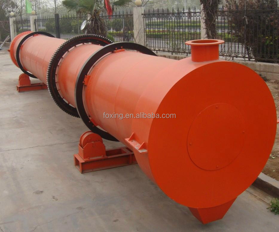 Mining Hopper rotary drum Dryer with Conveyor