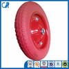 Yinzhu manufacturer 13 inch environmental red flat free wheel 3.00-8