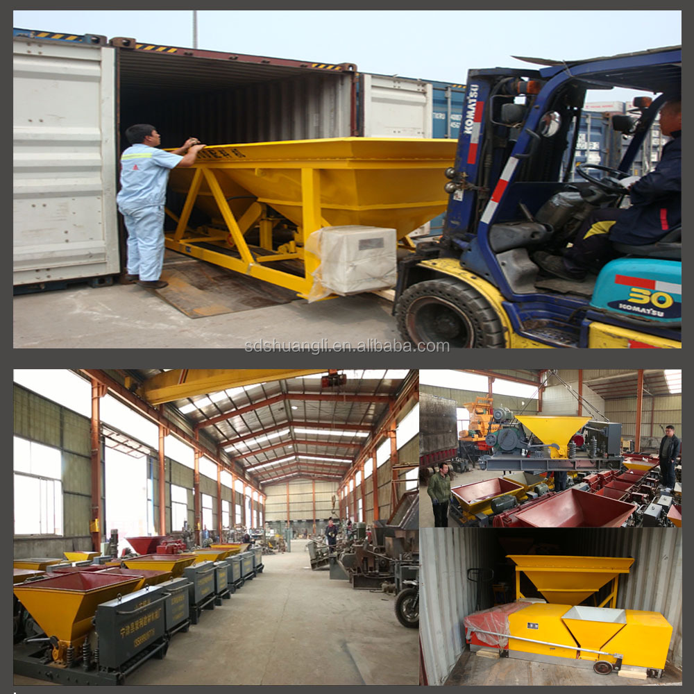 prestressed concrete hollow core slab machine exporting to South America