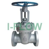 API Class 600 cast steel hand wheel gate valve with OS&Y rising stem