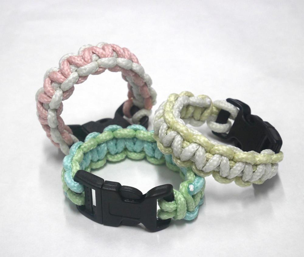 SuperSeed PB-0111 Taiwan glow in the dark bangle Paracord bracelets