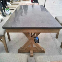 New Style China Bluestone Tabletop Limestone Dining Coffee Table