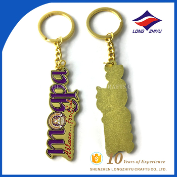 Personalized moments of glory prayer army keychain for souvenir gift