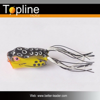 Soft frog lures for plastic fishing lures