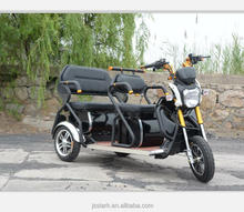 Recreational electric tricycle/Rickshaw for family with 3 wheels for passenger for sale