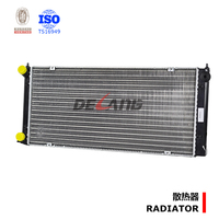 Auto engine cooling radiator pa66 gf30 from Shanghai manufacturer for VW JETTA with OE:191121251C(DL-A002)