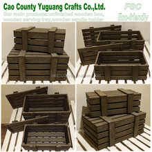 Accept Custom Order, Handmade Feature Wooden Crate,shabby wooden crates wholesale