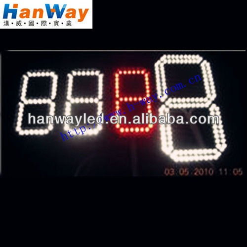 One Numeric Digit LED Outdoor Display