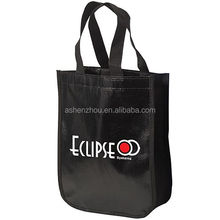 Cheap promotional custom design different shapes various color PP laminated tote non woven advertising bag