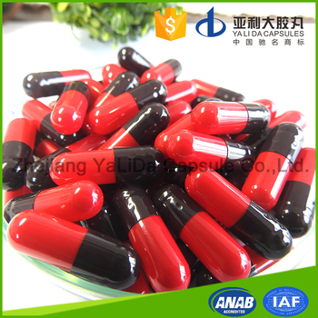 Alibaba supplier empty clear gelatin capsules herbal pills size 00,0,1,2,3,4,5