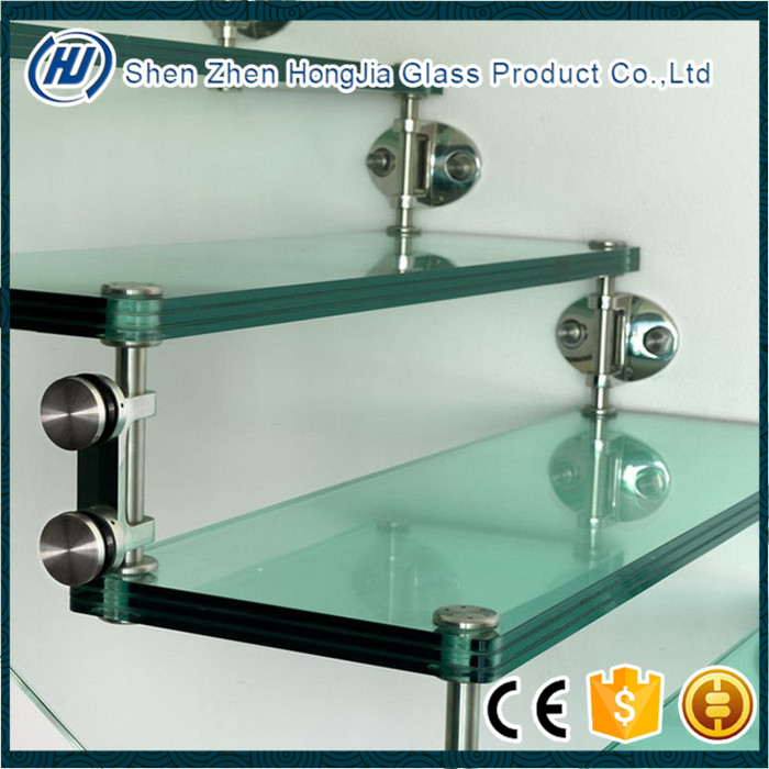 Hot Sale Laminated Glass price/Laminated Glass stairs