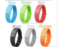 W5 Smart Wristband Bracelet Bluetooth Sport Watch Pedometer Calory monitor 3D Pedometer Thermometer Silent Vibration