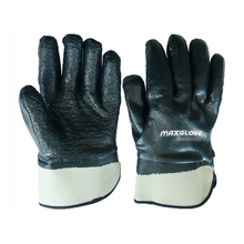 Heavy dirty oil resistant industrial working gloves