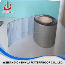 China flat roofing materials 1.5mm self-adhesive bitumen roofing felt