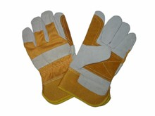 high quality export-oriented mens gray leather gloves