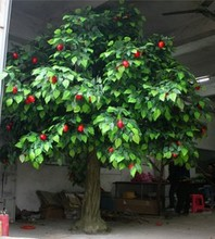 artificial tree/artificial fruit tree with apples