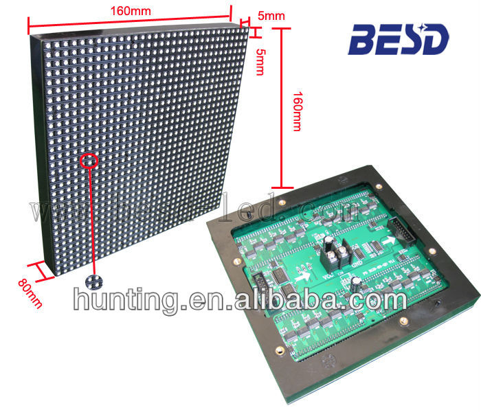 Ali good product P5 indoor full color advertising led display screen module