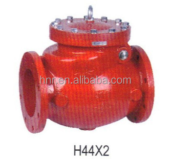 Red Iron Swing Check Valve H44X2