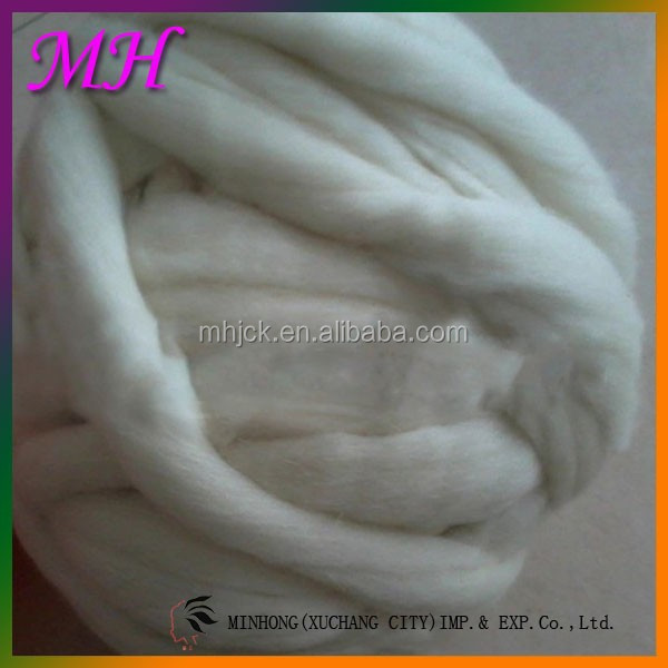 Best selling Sheep Wool top Mongolian white wool fiber For Spinning, Felting, Crafts,Carpet