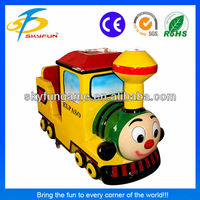 Mini Train coin operated children indoor riding game machine for sale