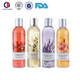 Hote selling aromatic perfume deep cleansing scented shower gel