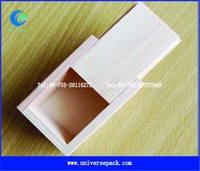 Wholesale unfinished wood box with sliding lid