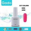 2016 Gado long-lasting soak off Easy Off Nail Salon Products Polish Top Coat Gel