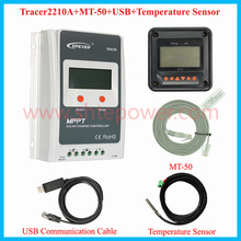 new Tracer2210a solar battery charger ,12v 20a mppt charge controll regulator