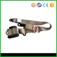 High quality seat belt 3 point safety belt are being designed ELR