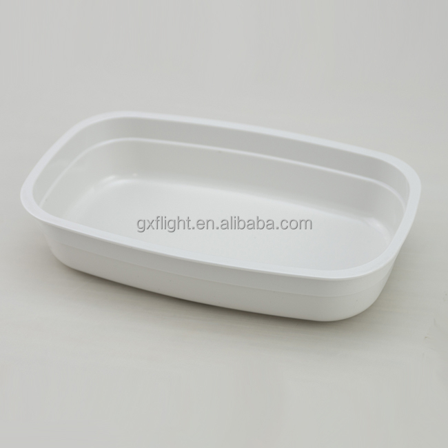 Airline rotable high heat resistant casserole for hot meal