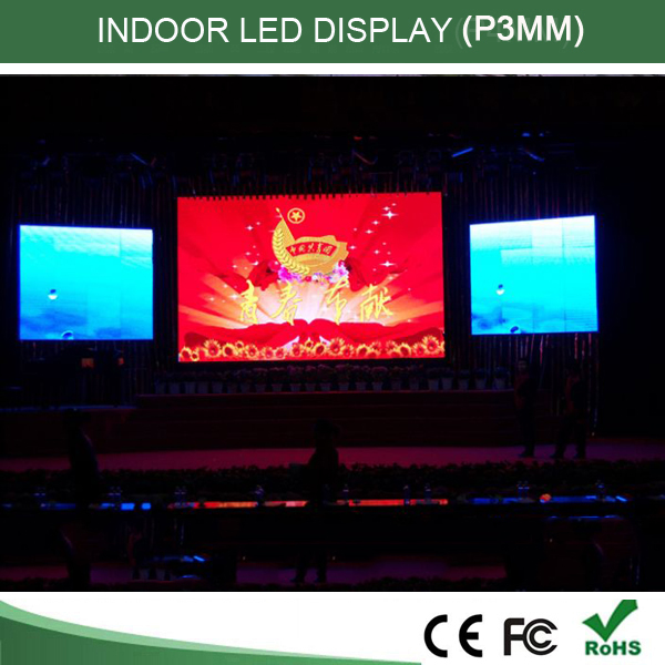 HD p3 indoor full color led video display , led board, p3 led