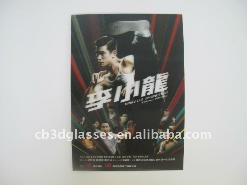 worldwide 3d kungfu posters of Bruce Lee