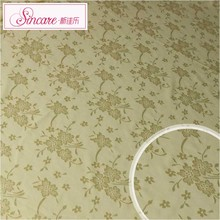 Custom Golden small flower Cheap Stretch Gold Lace Fabric